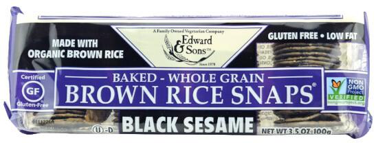 Craquelin de riz complet - Sésame noir 100g