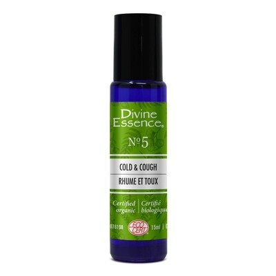 Divine essence - Remède Rhume & Toux Roll-On