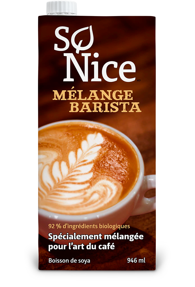 So Nice – Boisson Barista  biologique 946ml