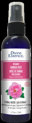 Divine Essence - Eaux florales Rose de Damas bio 110ml