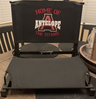 Stadium Titans chair Black or Red