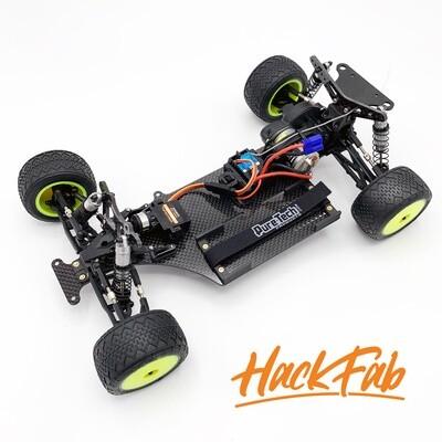 Losi Mini-T 2.0 EDM / Late Model Oval chassis conversion kit V2