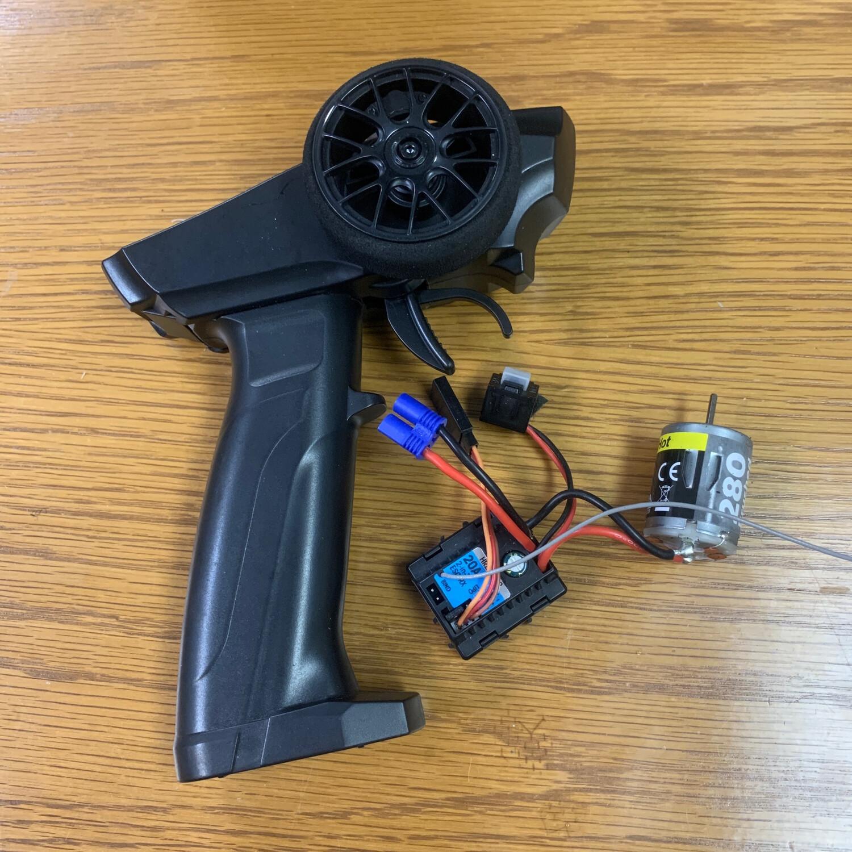 Losi Mini-t 2.0/Mini-b Stock Radio Motor Esc