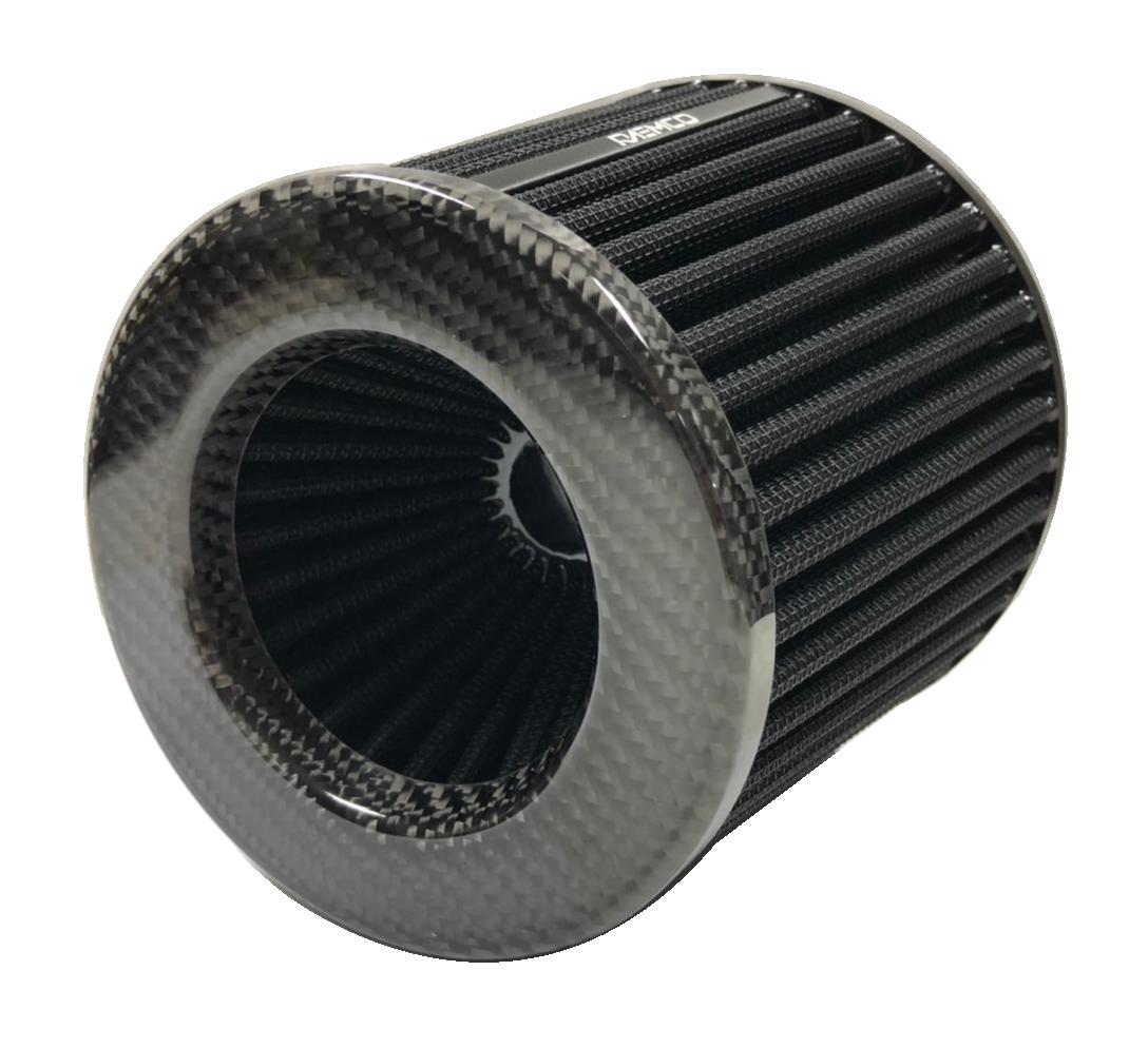 """RAEMCO  CARBON AIR FILTER กรองอากาศรถยนต์ แบบซักล้างได้ ปากทางเข้า 3"""""""