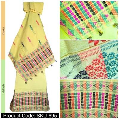 Cotton Mekhela chador