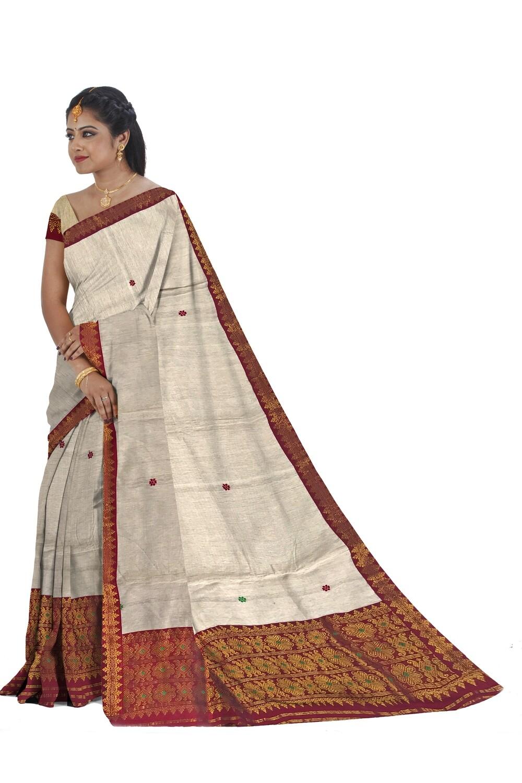 Ready To Wear ERI Cotton Mekhela Chador