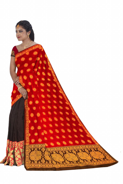 Ready to wear Cotton Mekhela chador