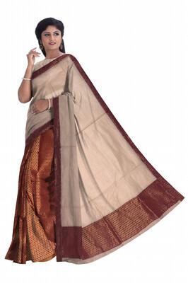 Mekhela Chador with heavy blouse