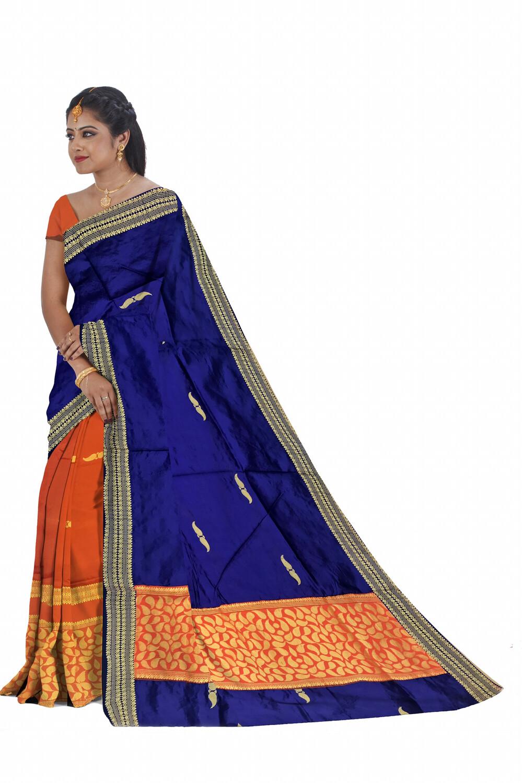 Ready To Wear Art Silk Mekhela chador