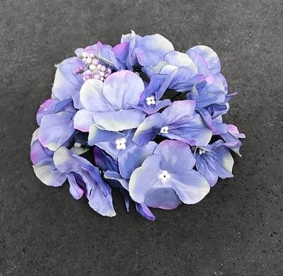 Hortensia-kukkapää, sininen