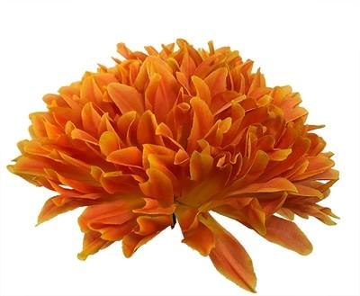 Krysanteemi-kukkapää, oranssi