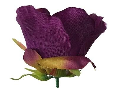 Ruusu-kukkapää, violetti/ruskea