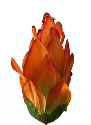 Artisokka-kukkapää, oranssi