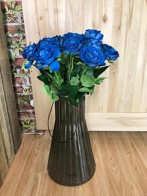 Samettiruusu, sininen