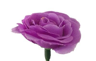 Miniruusu-kukkapää, violetti