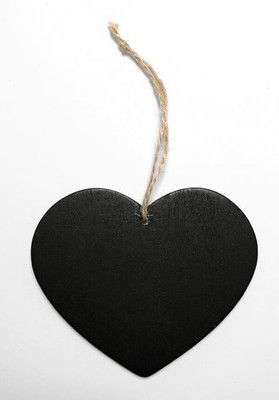 Ripustettava sydän, liitutaulupinta