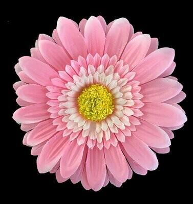 Gerbera-kukkapää, vaaleanpunainen