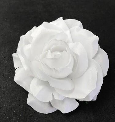 Ruusu-kukkapää, valkoinen