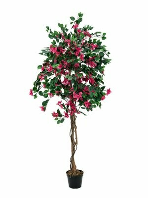 Ihmeköynnöspuu tekopuu punainen 150cm