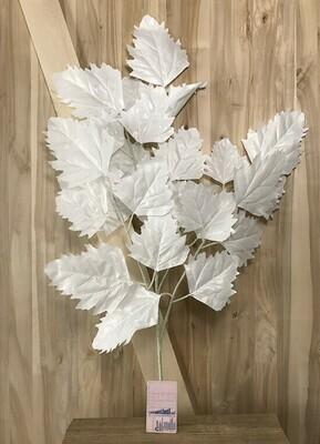 Vaahteran oksa 80cm, valkoinen