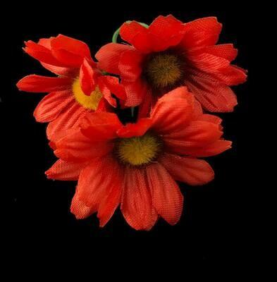 Kamomilla-kukkapää, punainen