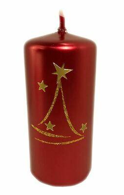 Kynttilä punainen 13cm
