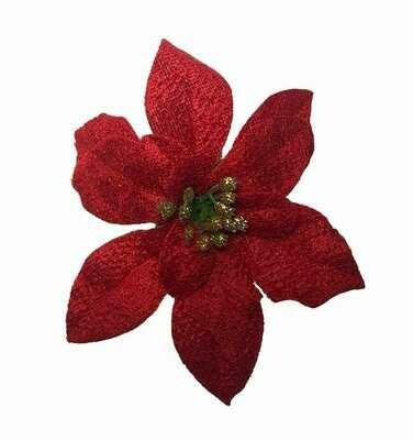 Joulutähti-kukkapää, punainen