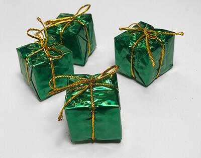 Lahjapaketti 4kpl, vihreä
