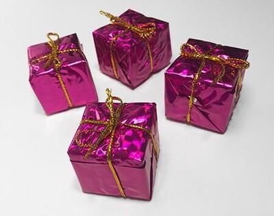 Lahjapaketti 4kpl, pinkki