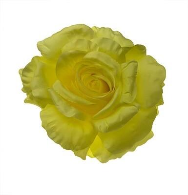 Iso ruusu-kukkapää, keltainen