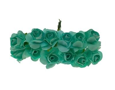 Paperiruusu 12kpl, mintun vihreä
