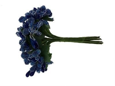 Hedenippu lehdillä, sininen