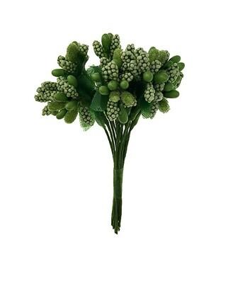 Hedenippu lehdillä, vihreä