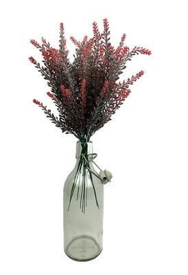Kanervan teko-oksa, punaiset kukat