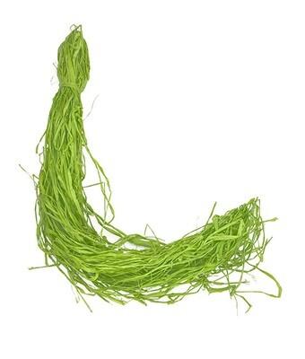 Raffia paperinarunippu 100g, vihreä