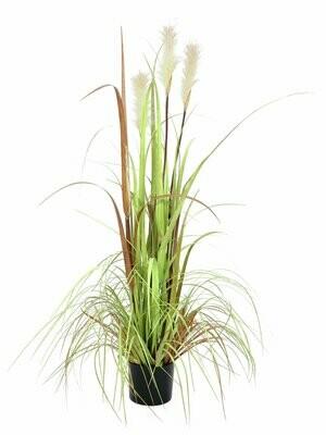 Tekoheinäkasvi ruukussa 120cm
