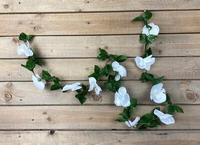 Orkideaköynnös 1,7m valkoinen