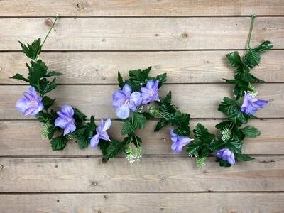 Inkaliljaköynnös, vaalea violetti