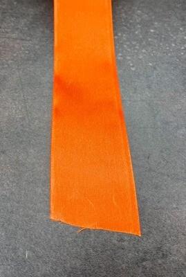 Satiininauha 3,8cm oranssi 10m