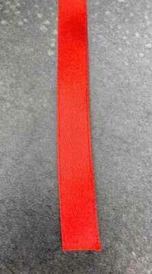 Satiininauha 1,2cm punainen 10m
