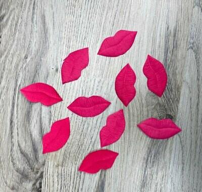 Kangashuulet 10kpl, vaaleanpunainen