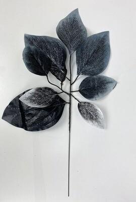Fiikuksen (viikunan) teko-oksa, musta/harmaa