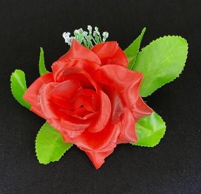 Punainen ruusu kukkapää