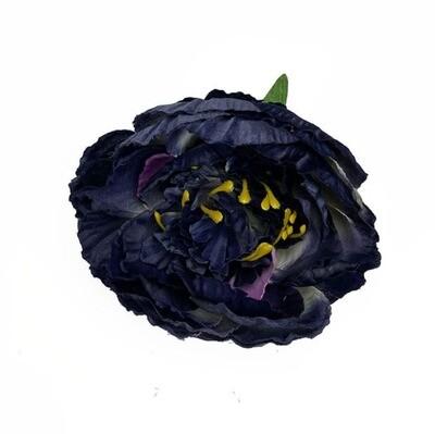 Pioni kukkaosa, tumman sininen