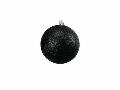 Musta kimallepallo 10cm