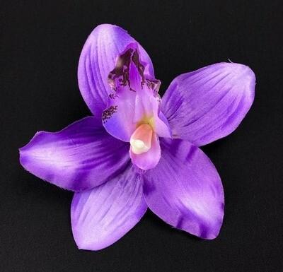 Orkidea kukkapää, violetti