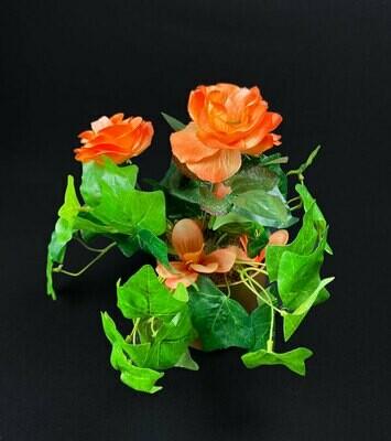 Ruusu tekokukka-asetelma