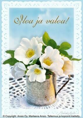 Kortti Marleena Ansio: kaunis kukka