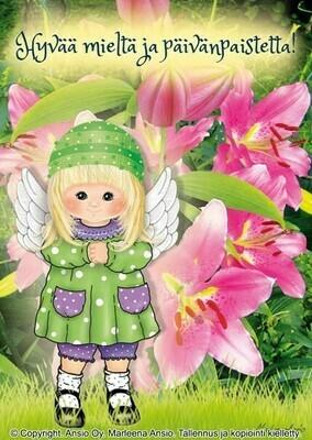Kortti Marleena Ansio: enkeli