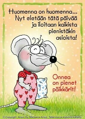 Kortti Marleena Ansio: päikkäri-hiiri